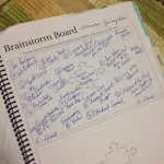 brainstorm board