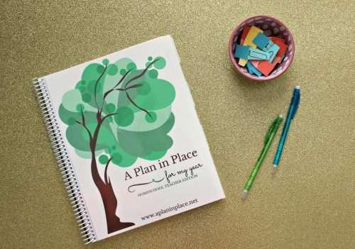 planning homeschool schedule