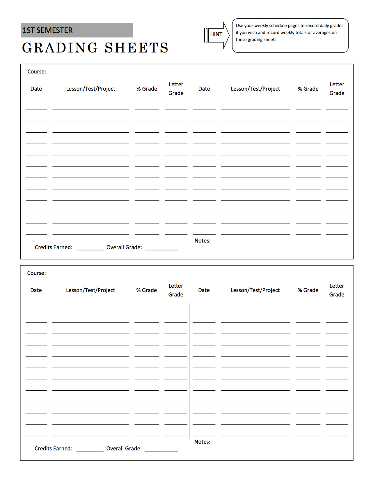 photograph regarding Free Printable Homeschool Record Keeping Forms known as Large College or university Model - A Method within Destination