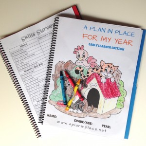 Preschool-Homeschool-Planner