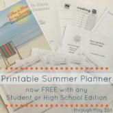Summer Planner promo