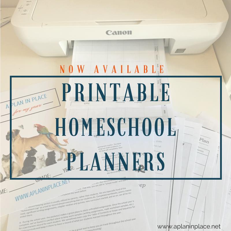 printable-homeschool-planners