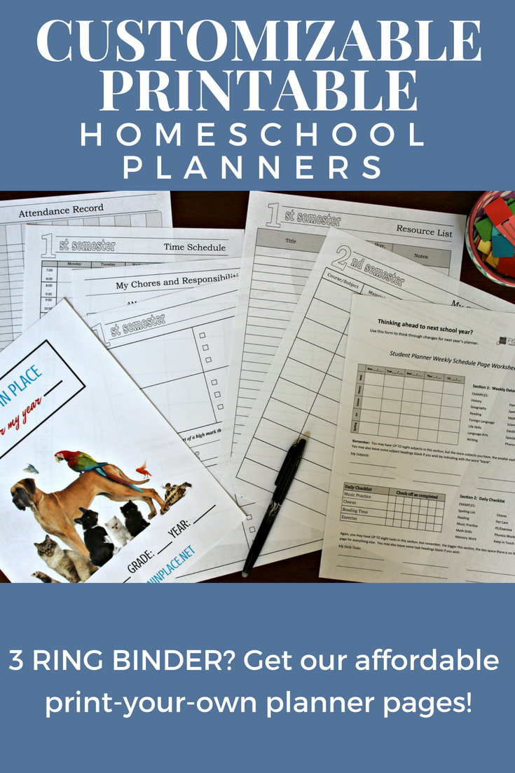 Homeschool Organizing Archives | A Plan in Place