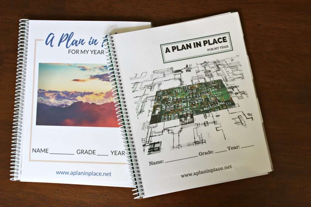 Homeschool Student Planner - A Plan in Place