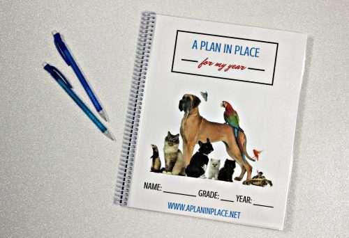 homeschool planner student edition